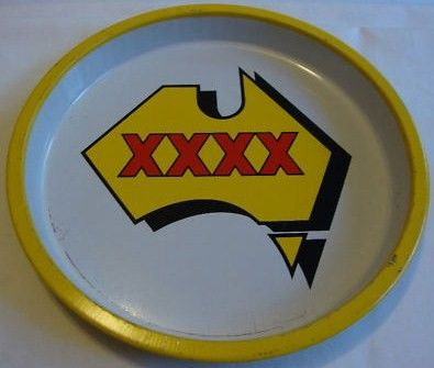 Vintage Four XXXX Beer Advertising Tray