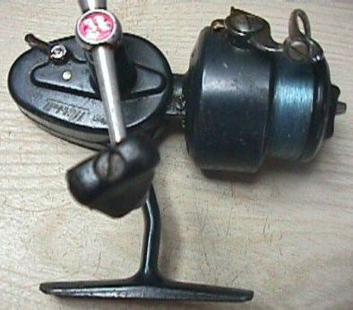 Vintage Garcia Mitchell Blue 408 Fishing Reel