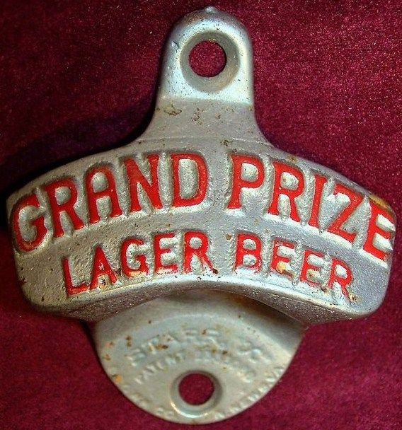Vintage Grand Prize Lager Beer Wall Mount