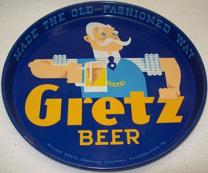 Gretz Beer Tray 12 inches