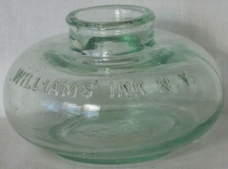 Vintage Ink Bottle Williams Ink NY