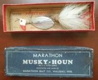 Vintage Marathon Musky-Hound Fishing Lure Wausau Wisco