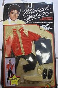 Vintage Michael Jackson Beat It Doll Outfit New In Box