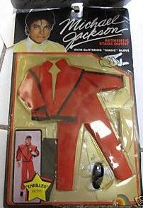 Vintage Michael Jackson Thriller Doll Outfit Clothes