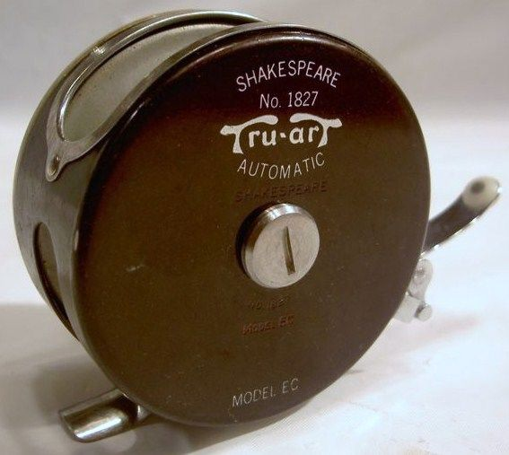 Old Fishing Fly Reel/Shakespeare Silent Tru Art 1827