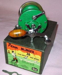 Vintage Penn Monofil 26 w/Box-Key