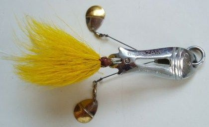 Pflueger Zam Weedless Spoon Old Twin Spinner