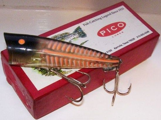 Vintage Pico Pop Lure with Box