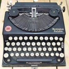 Vintage Remington Portable Typewriter