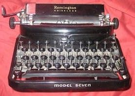 Vintage Remington Rand 7 Noiseless