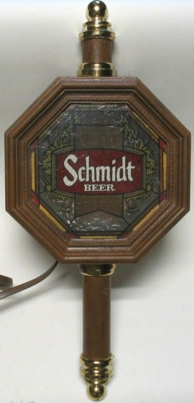 Collectible Schmidt Beer Coach Lamp Series Bar Light