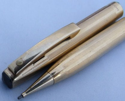 Sheaffer Imperial Gold Filled Trim 9mm Lead Pencil