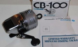 Vintage Shimano CB-100 Fishing Reel new in box