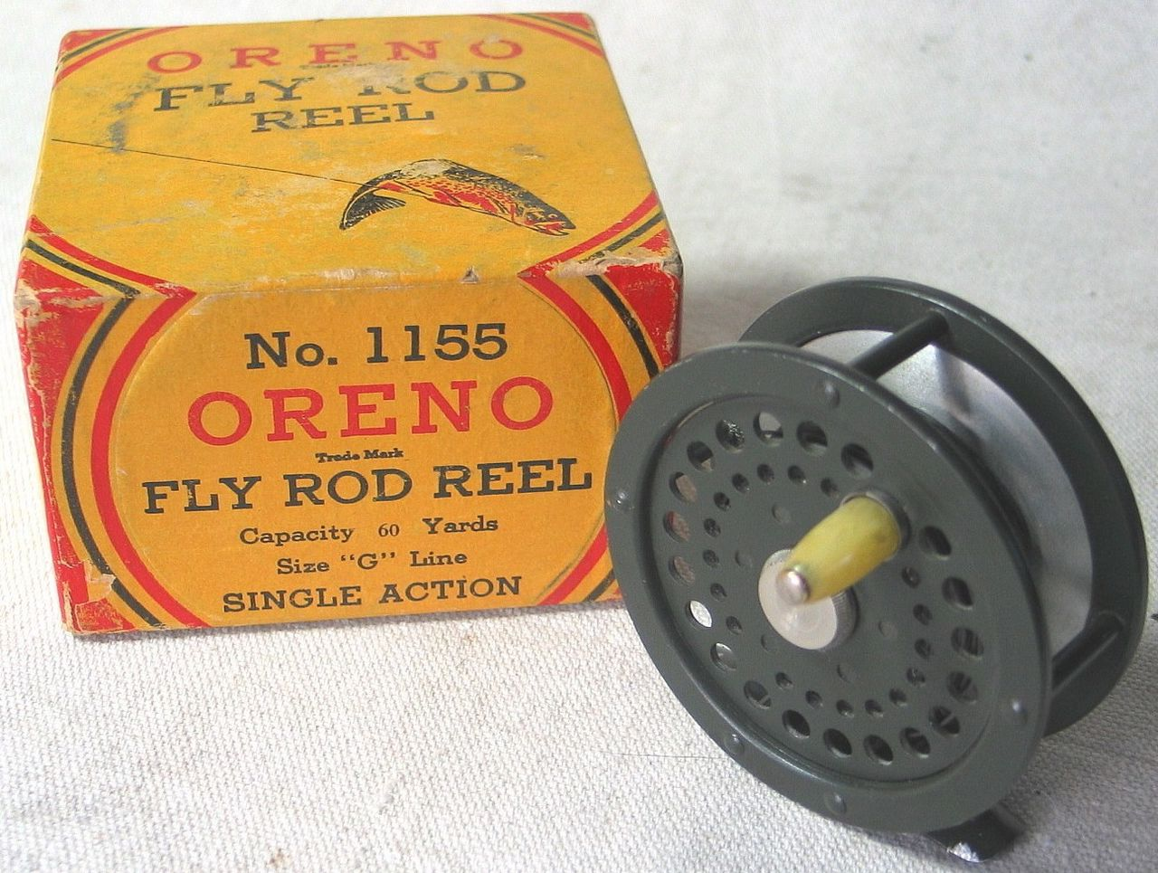 Vintage South Bend Bait Company No. 1155 Oreno Fly Rod Reel