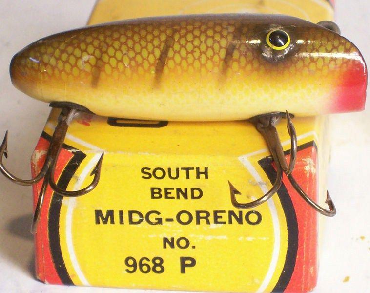 Vintage South Bend Minnow 923 w/Original Box