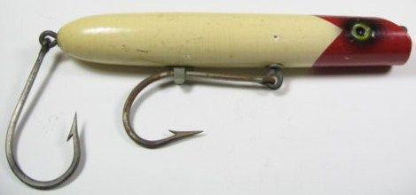 Vintage South Bend Tarp Oreno Wood Saltwater Fishing Lure