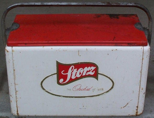 Vintage Storz Beer Cooler Omaha NE
