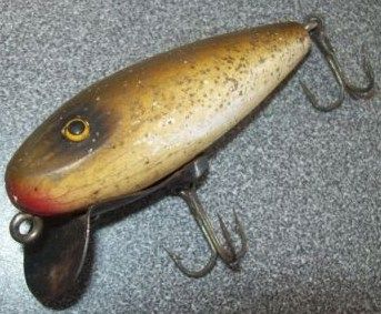 Vintage Wooden Paw Paw Runt Fishing Lure