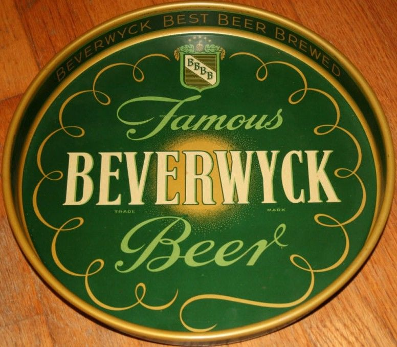Vintage Beverwyck Beer Tray