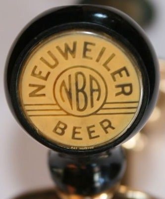 Vintage 1940s Neweiler NBA Beer Ball Knob Tap