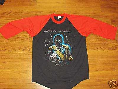Vintage Michael Memorial 1984 Concert Shirt Tour Front