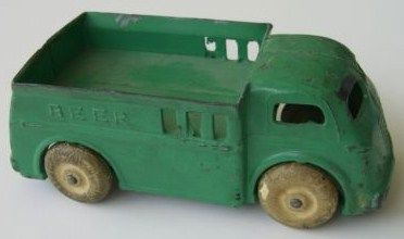 Vintage Barclay USA Toy Beer Truck