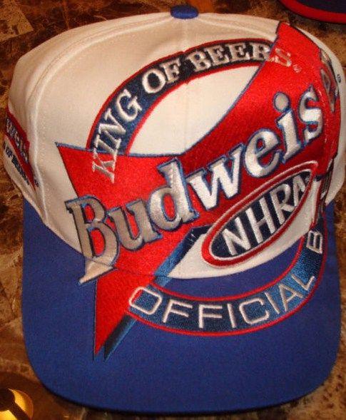 Vintage Budweiser 1990's Hat Cap Nascar Snapback