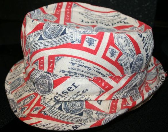 Vintage Budweiser Beer Classic Fishing Style Hat