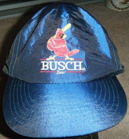Vintage Busch Beer St Louis Cardinals Snapback Hat