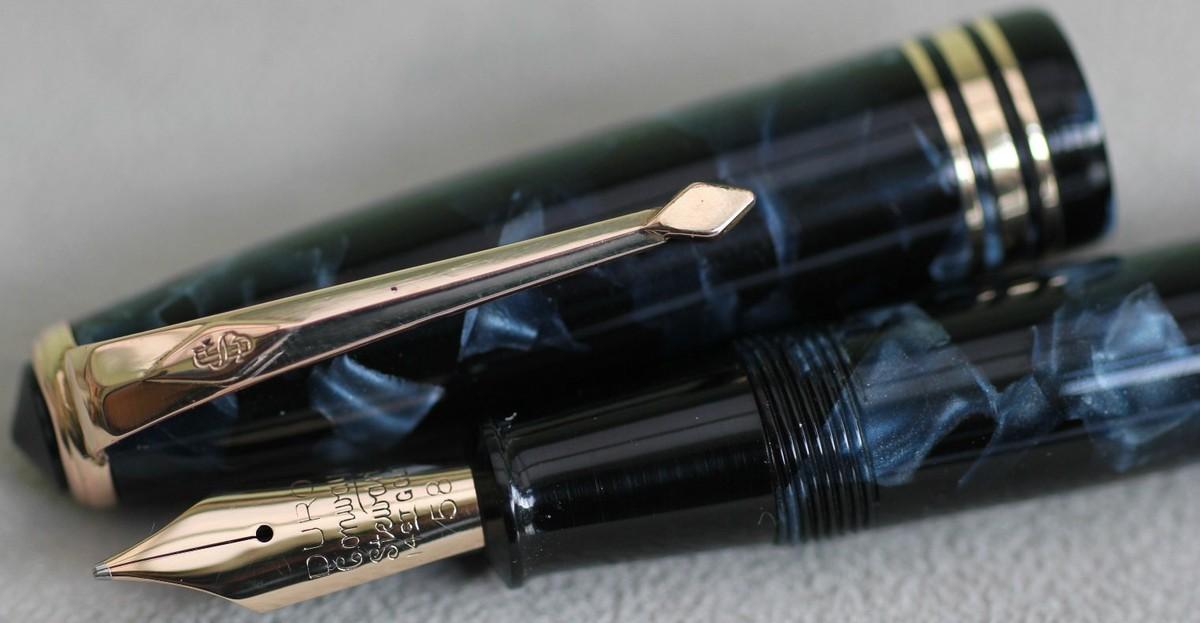 Vintage Conway Stewart 58 Fountain Pen C-1956 Gold Filled Trim