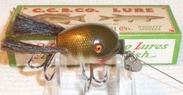 Vintage Creek Chub 5200 Baby Dingbat Lure with Original Box