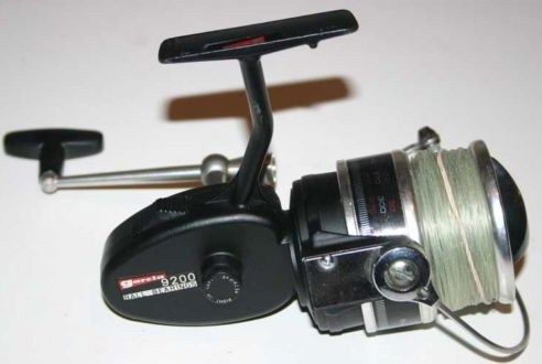 Vintage Garcia 9200 Spinning Fishing Reel w/Manual