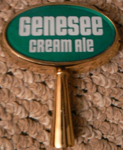 Vintage Genesee Cream Ale Beer Tap Handle Rochester NY