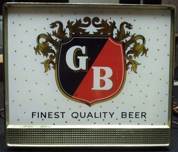 Vintage Griesedieck Brothers Beer Sign/Lighted Bar top St Louis MO