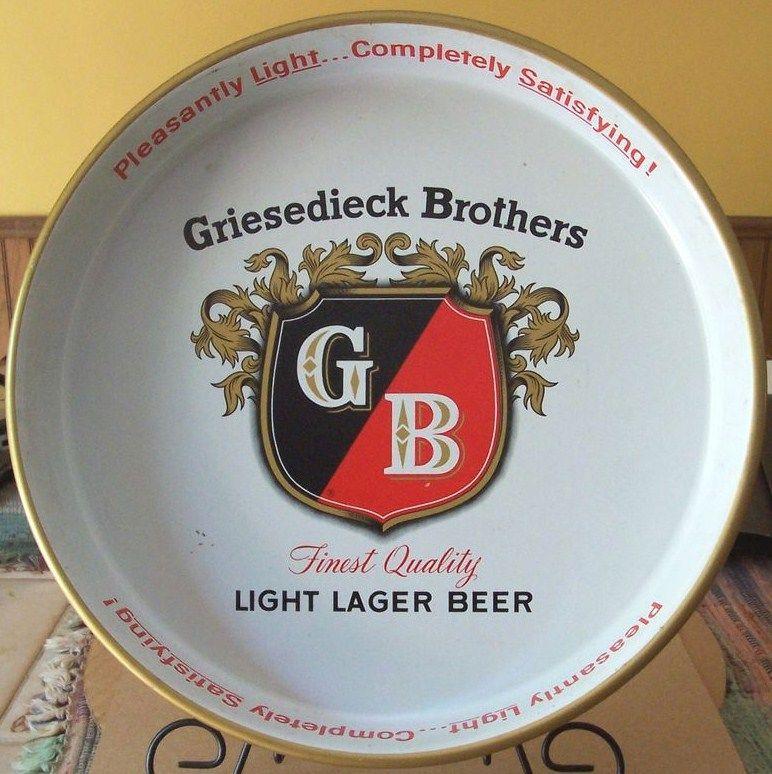 Vintage Griesediek Lager Beer Tray