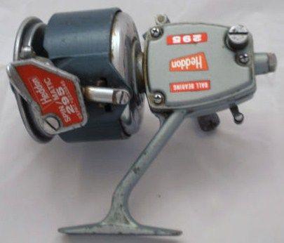 Vintage Heddon 295 Spin-Matic Saltwater Spinning Reel