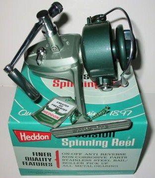 Vintage Heddon Spinning Reel 222 w/Box