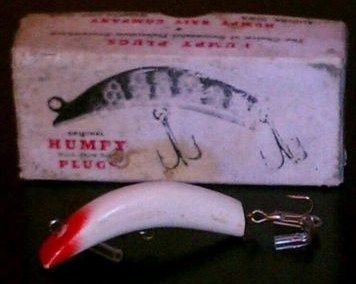 Vintage Humpy Fishing Lure with Box
