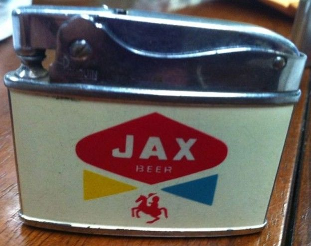 Collectible Jax Beer Automatic Lighter-Front