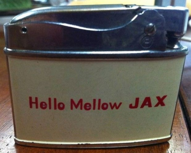 Vintage Jax Auto Lighter Back
