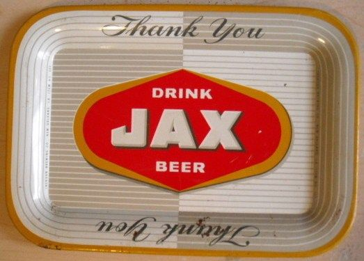 Vintage Jax Beer Thank you Tip Tray