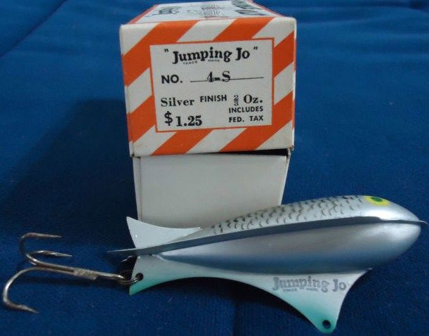 Vintage Jumping Jo Fishing Lure 4-S New in Original Box