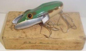 Vintage LeBoeuf Creeper Fishing Lure Rare Weedless w/Box