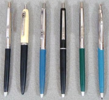 Vintage Lot of Paper Mate Double Heart Ball Point Pens