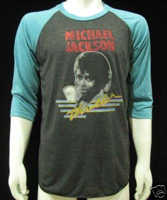 Vintage Michael Jackson Thriller Jersey T-Shirt Mens L