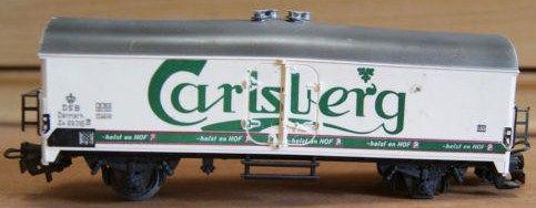 Vintage Marklin HO Scale Carlsberg Beer Car