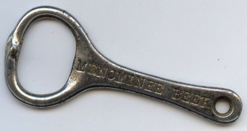 Vintage Menominee Beer Bottle Opener Michigan Brewery