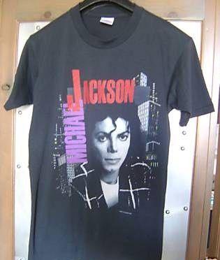 Vintage Michael Jackson 80's Bad Concert T Shirt