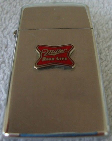 Vintage Miller High Life Zippo Lighter 1973