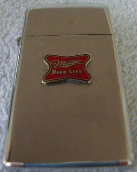 Vintage Miller High Life Zippo Lighter 1973
